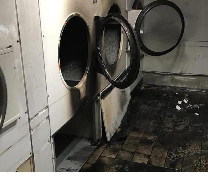 Aftermath of a Dryer Fire