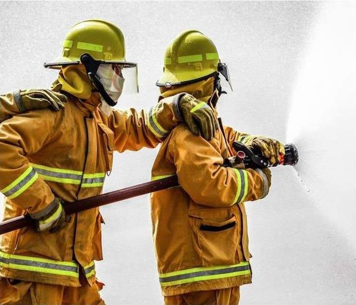 Who Do You Call After The Fire Trucks Have Left? | SERVPRO